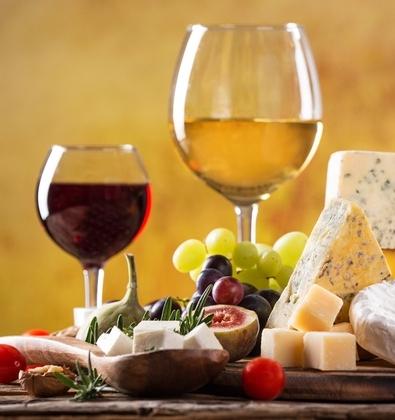 wine-cheese