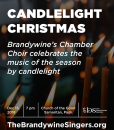 Candlelight Christmas Brandywine Poster